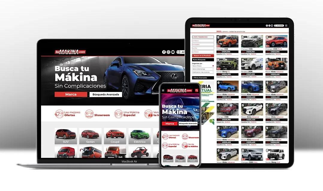 Tumakina.com nuevo portal para comprar y vender vehículos en RD