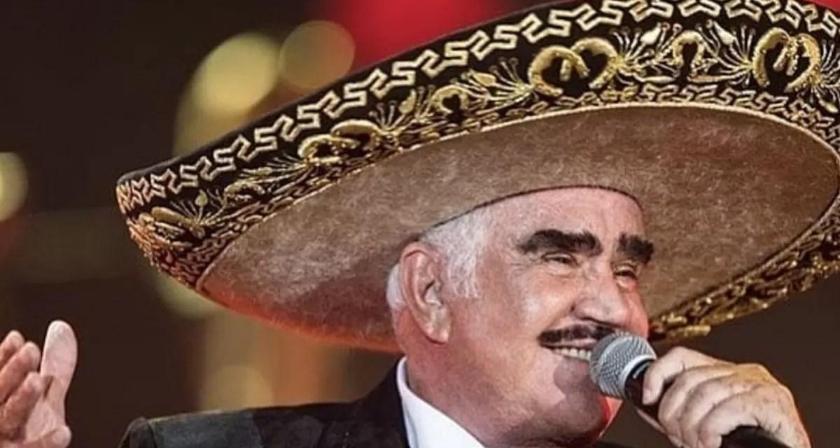 Vicente Fernández es hospitalizado de emergencia