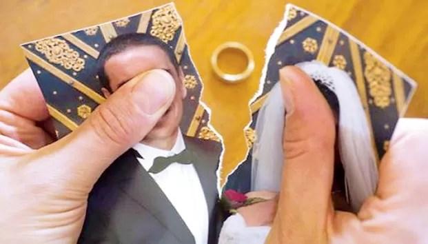 Causas más comunes de los divorcios en RD