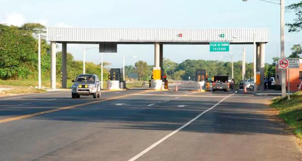 Lo que pagará este año el Gobierno por peaje sombra Autopista del Nordeste