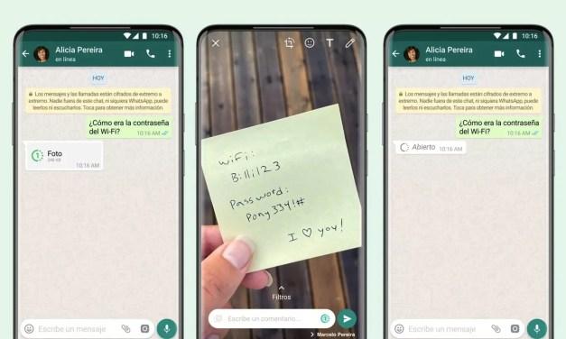 WhatsApp: Llegan las fotos que desaparecen