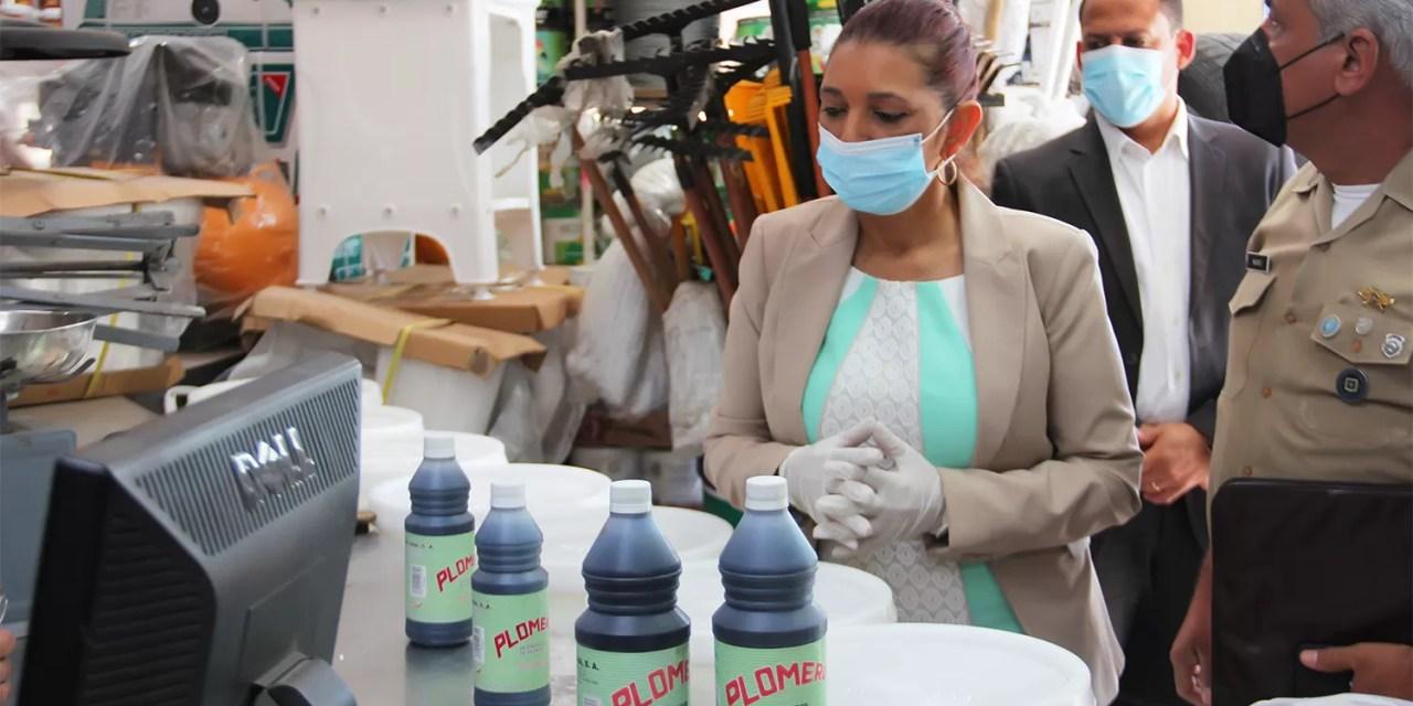 """Decomisan cientos de productos utilizados para fabricación """"ácido del diablo"""""""
