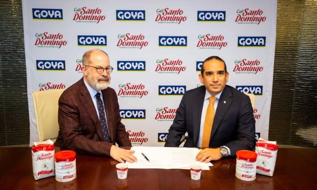 INDUBAN y Goya firman acuerdo para distribución de Café Santo Domingo en Estados Unidos