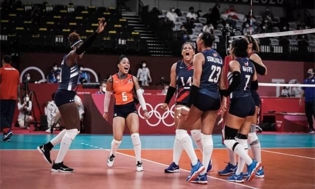 Voleibol RD vence a Japón y avanza a cuartos de finales