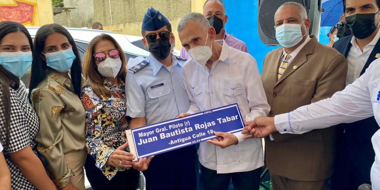 Juan Bautista Rojas Tabar tiene su calle