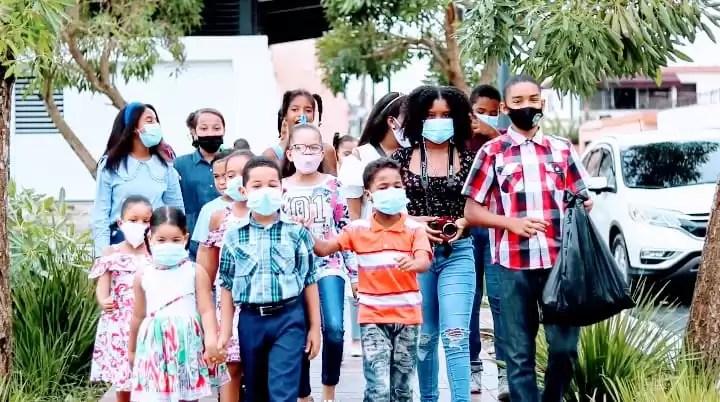 Ayuntamiento SDE juramenta primera Junta de Vecinos Infantil
