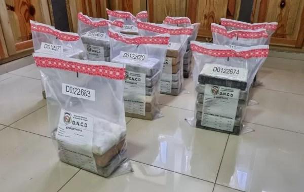 Incautan 57 paquetes de cocaína en puerto de Haina Oriental