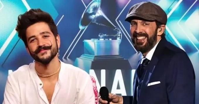 Camilo y Juan Luis Guerra encabezan lista de nominados en Grammy Latino