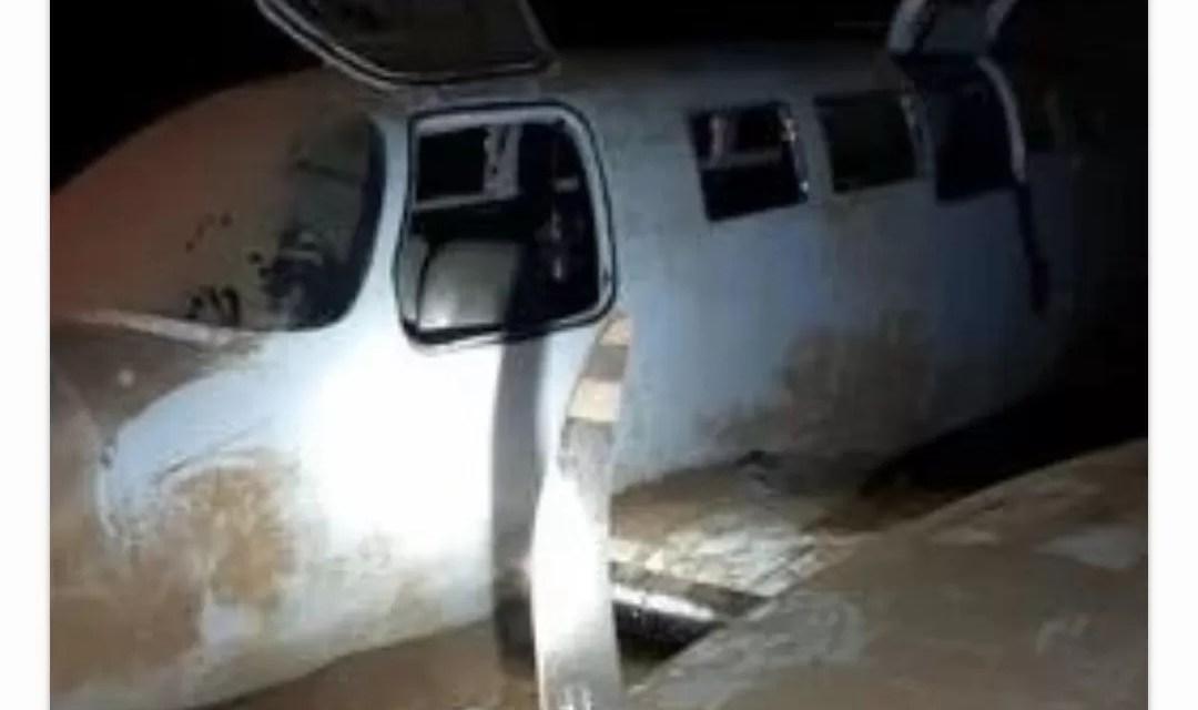 Lo que había dentro de la avioneta que se estrelló en Oviedo