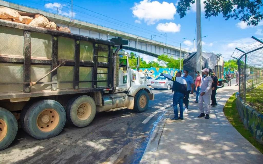 ASDN sancionará camioneros que circulen sin lona protectora