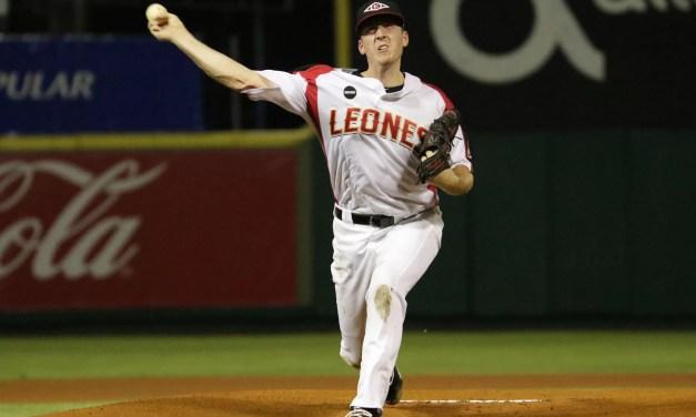 Teddy Stankiewicz lanzará otra vez con los Leones