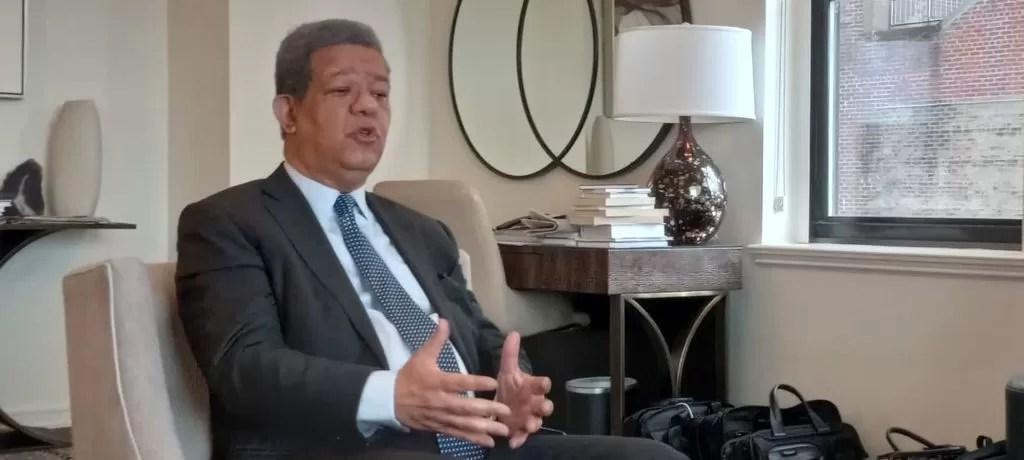 Leonel Fernández reitera su oposición a una posible reforma constitucional