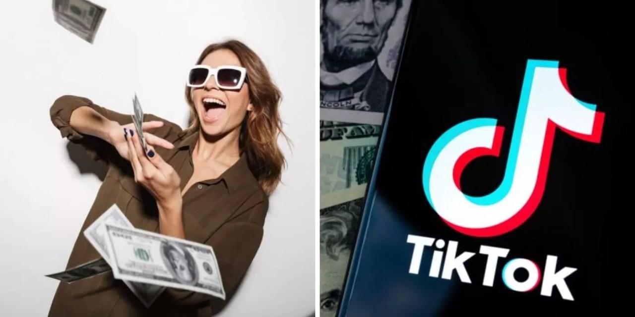 """Cómo """"forrarte de dólares""""  con TikTok"""