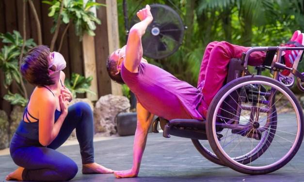 Jesús Vidal: cómo una lesión en la médula lo llevó de campeón de gimnasia a la danza