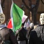 Protestas en Italia contra tarjeta de vacunación para entrar a los trabajos