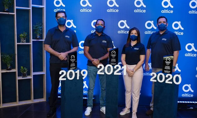 Altice recibe el Premio  Ookla Speedtest como proveedor de internet fijo más rápido de RD