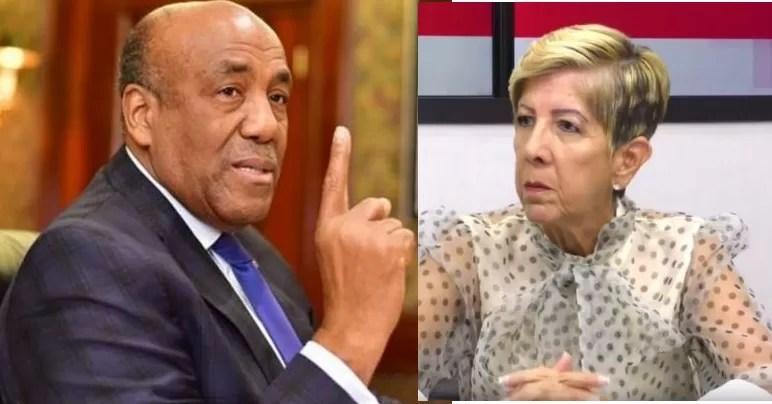 Antonio Almonte no se queda callado y le responde a Ginette Bournigal