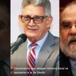 Funcionarios del PRM que abogan reforma fiscal se opusieron a la de Danilo