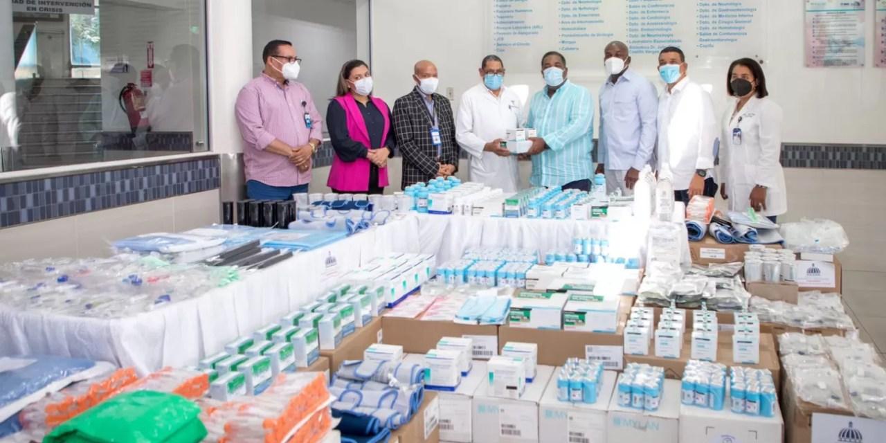 Gabinete Política Social entrega RD$20 millones en medicamentos a hospitales