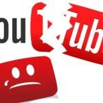 Se reporta una caída de YouTube en algunas zonas de EE.UU