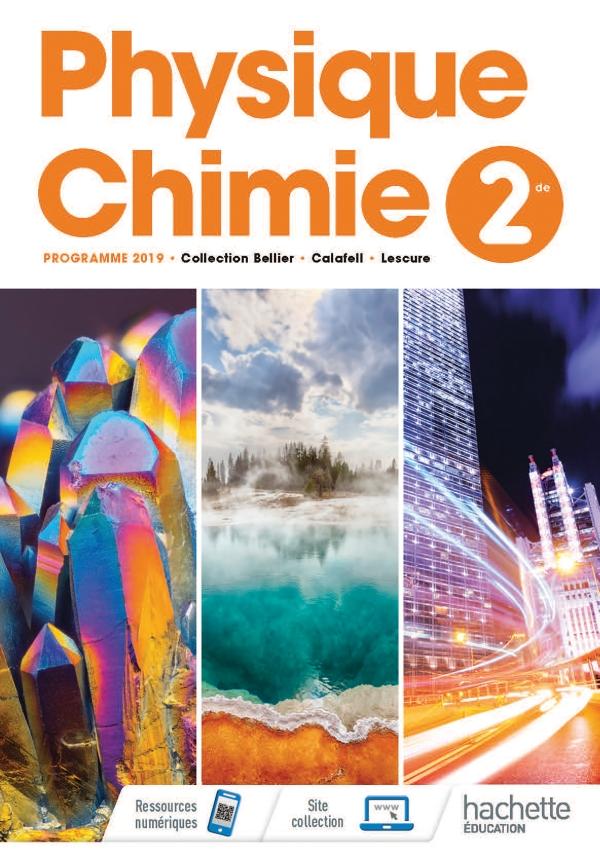 Livre De Physique Chimie Seconde : livre, physique, chimie, seconde, Physique/Chimie, Livre, Élève, Grand, Format, Integra, Hachette, Éducation, Enseignants