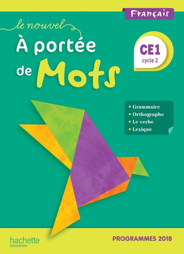 A Portée De Mots Ce2 : portée, Nouvel, Portée, Manuel, élève, Edition, Grand, Format, Integra, Hachette, Éducation, Enseignants