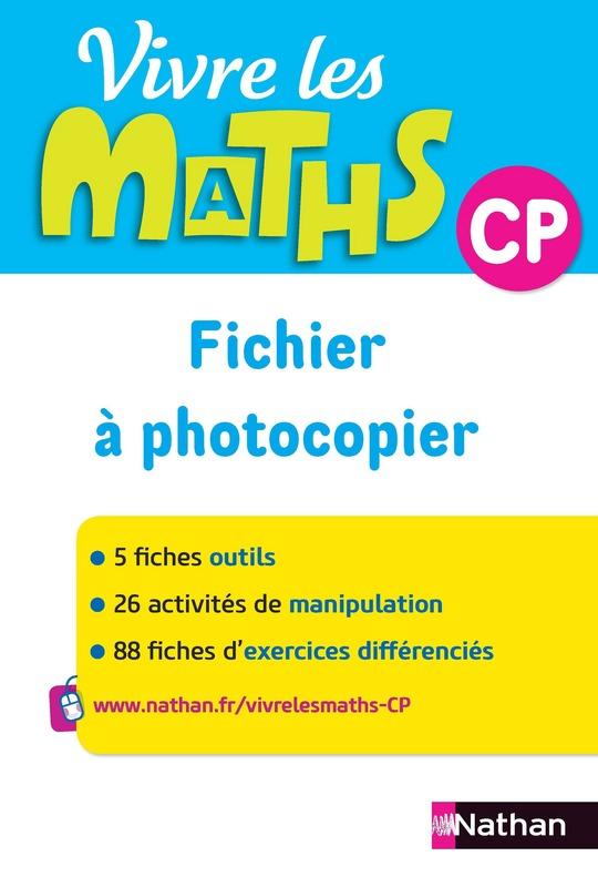 Vivre Les Maths Cp Site Compagnon : vivre, maths, compagnon, Vivre, Maths, Fichier, Ressources, 9782091239521, Éditions, Nathan