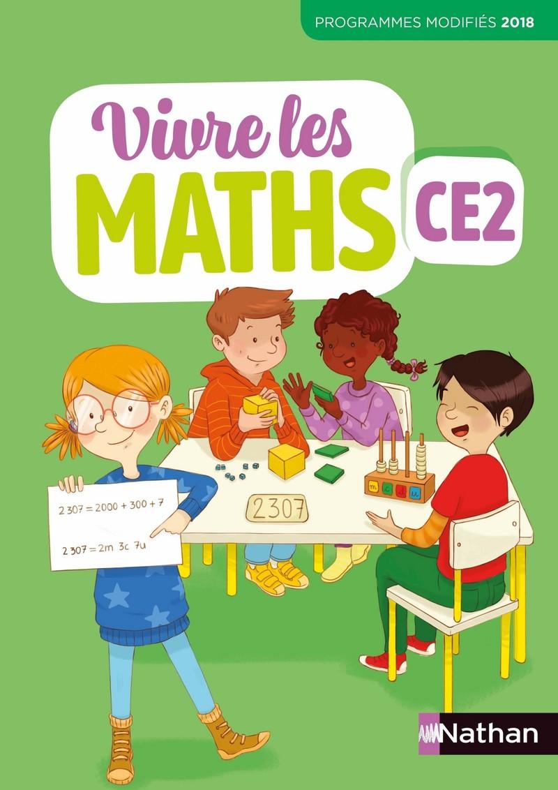 Vivre Les Maths Ce2 Site Compagnon : vivre, maths, compagnon, Vivre, Maths, Fichier, L'élève, 9782091249735, Éditions, Nathan