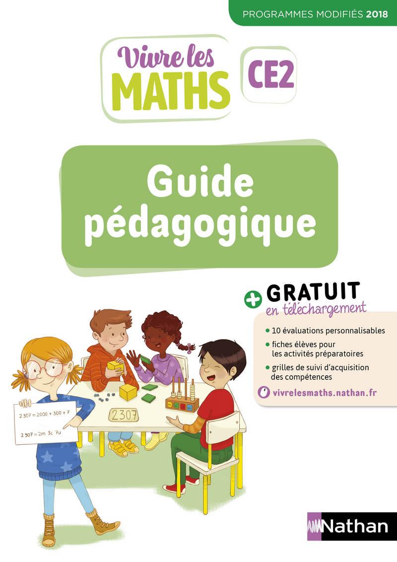 Vivre Les Maths Ce2 Site Compagnon : vivre, maths, compagnon, Vivre, Maths, Guide, Pédagogique, 9782091249742, Éditions, Nathan