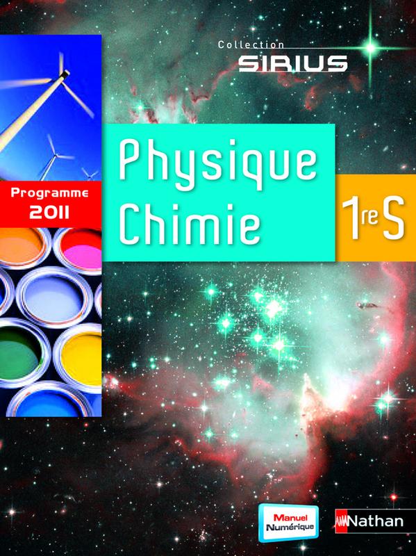 Livre Physique Chimie Premiere S : livre, physique, chimie, premiere, Physique-Chimie, Livre, L'élève, 9782091725123, Éditions, Nathan
