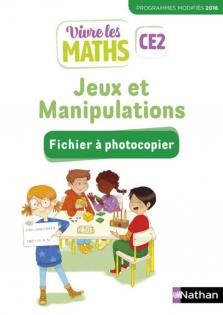 Vivre Les Maths Ce2 Site Compagnon : vivre, maths, compagnon, Vivre, Maths, Fichier, Manipulations, D'exercices, 9782091243412, Éditions, Nathan