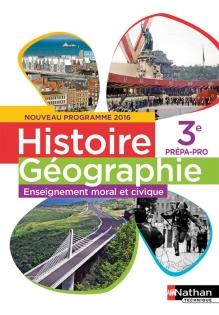 Histoire Geographie Emc 3e Prepa Pro Livre De L Eleve