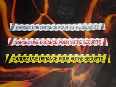 BANDES SOLS MARQUAGE DISTANCE SECURITE DISTANCIATION COVID 94 CRETEIL PARIS