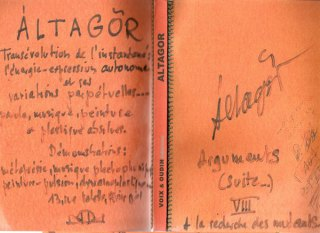 Cahier rouge - 1974
