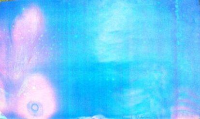 Autoportrait - 1976 xérographie couleurs 38x54 cm