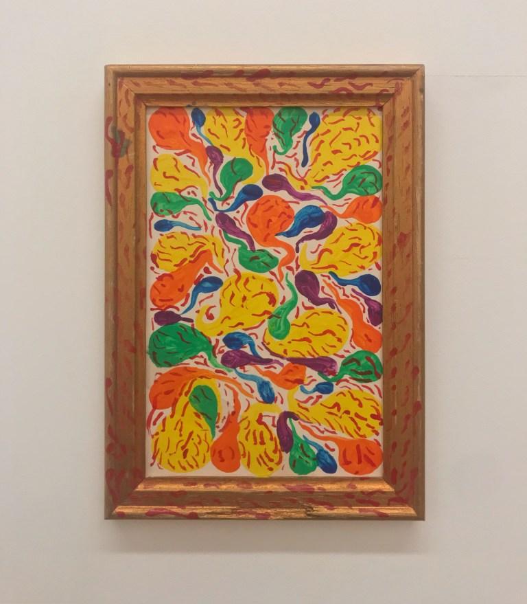 """""""50 gouttes de couleurs et 500 gouttes de sang"""", 1985"""