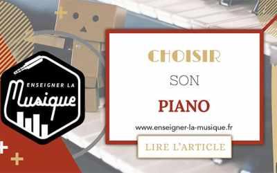 Choisir Son Piano 🎹