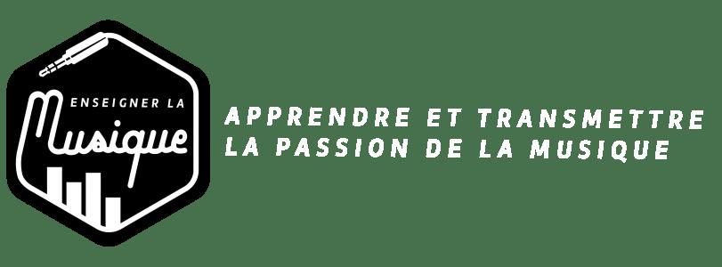 Logo et slogan du blog Enseigner La Musique