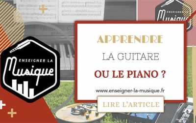 Apprendre La Guitare Ou Le Piano ? 🎸⚔️🎹