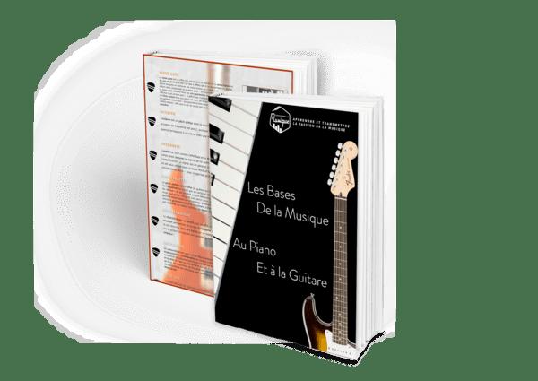 Couverture du bonus Les Bases de la Musique au Piano et à la Guitare et du Lexique de la Musique