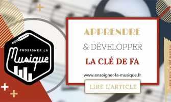Apprendre La Clé De Fa - Enseigner La Musique