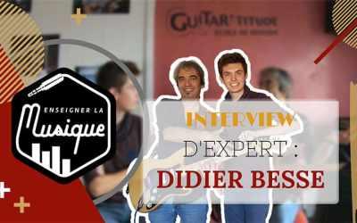 Interview d'Expert : Didier Besse, Professeur De Guitare & Guitariste