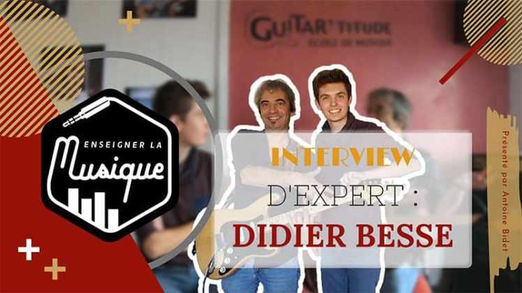 Photo de description de l'interview de Didier Besse