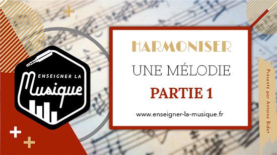 """Image de description de l'article """"Harmoniser Une Mélodie : Partie 1 : Trouver Des Accords"""""""