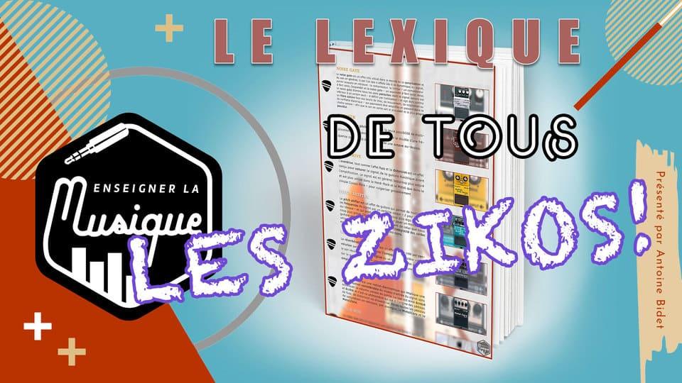 Bonus 1 - Lexique Des Musiciens