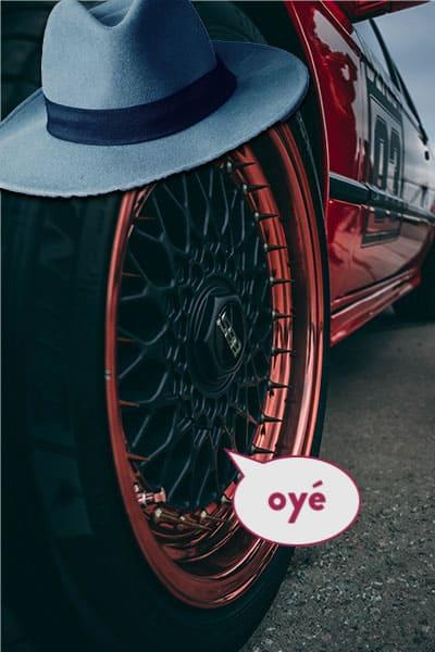 Partir sur les chapeaux de roues