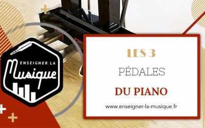 Les Pédales Du Piano 🎹