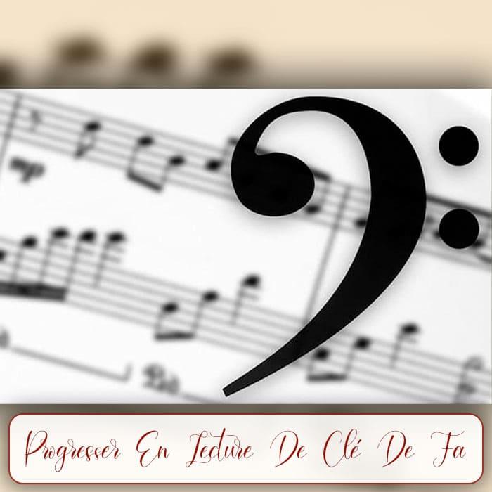 Progresser En Clé De Fa - Enseigner La Musique