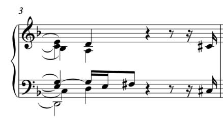 """Assortiment de plusieurs silences à la suite pour l'article """"les silences en musique"""""""