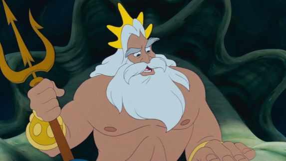 """Image du père d'Ariel, le Roi Triton pour l'article """"Le Triton Musical"""""""